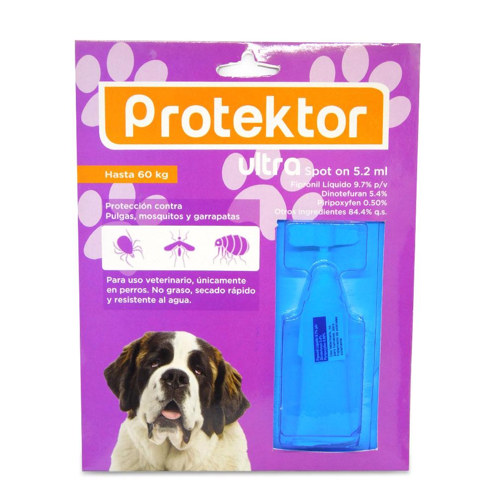 Pipeta Ultra Protektor Hasta 60 Kilos